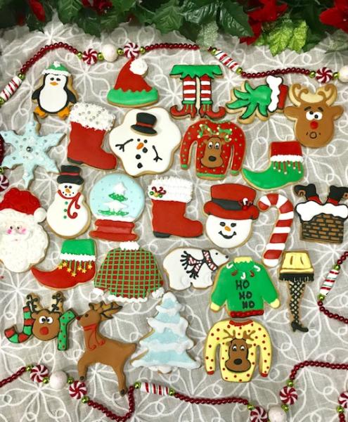 Christmas Sprinkles Custom Made Cakes Cupcakes Cookies And Treats